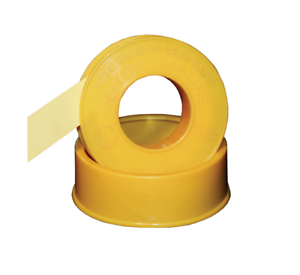 Yellow Gas Teflon Tape Heavy Duty PTFE Threadseal 8m x 12mm