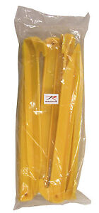 12 Pack Tent Stakes - 9 Inch Plastic Spikes Yellow - Camping Tents ... 03edd7757ef