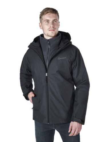 4815b3684d9 Insulated n42 Jacket 21898 Stronsay carbon Black New Berghaus F8wx5Oqvg