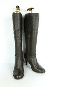 Bottes JONAK cuir Noir T 37 UK 4 TRES BON ETAT   eBay
