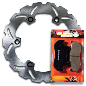 honda rear brake rotor pads vf 500 f 84 86 vfr 700 750 f. Black Bedroom Furniture Sets. Home Design Ideas