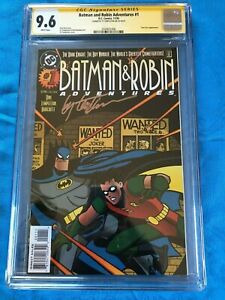 Batman-amp-Robin-Adventures-1-DC-CGC-SS-9-6-NM-Signed-by-Templeton