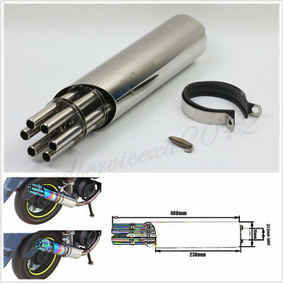 Body /& Frame Exhaust Systems /& Muffler Parts 1 X Silencer 51mm//2inch Universal Motorcycle Exhaust Pipe Can Silencer Muffler Baffle Removable 1 X Wrench