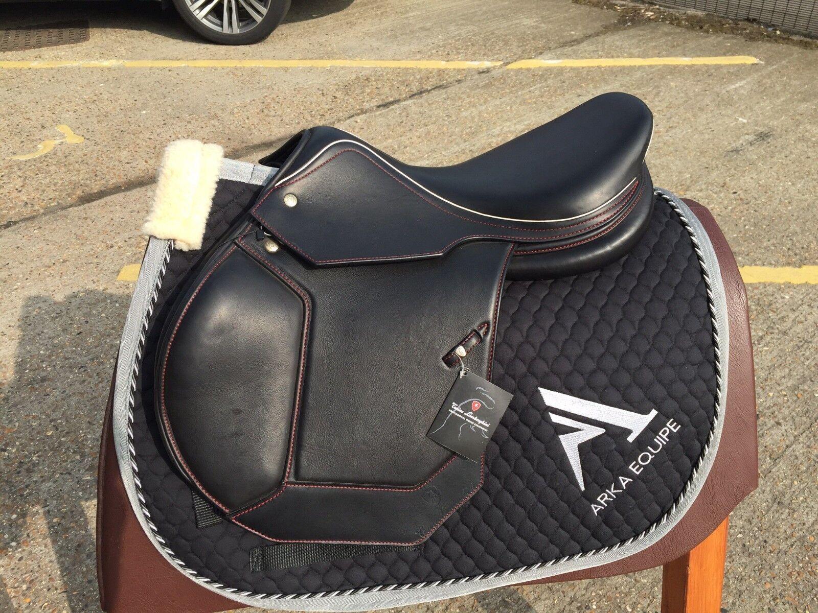 Lamborghini Classic Saddle + free Lanborghini Saddle Pad