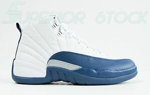 AIR JORDAN Retro XII 12 French Blue NEW Size 10 11 NIKE 130690-113 master bred