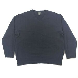A Jos V Xl Collezione Uomo Cashmere M Bank Blue Neck Travelers Fits Sweater dpprZwvq