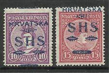 Jugoslawien. 1918. Charles $ Zita Satz. SG: 81/2. Mint Leicht Mit scharnier