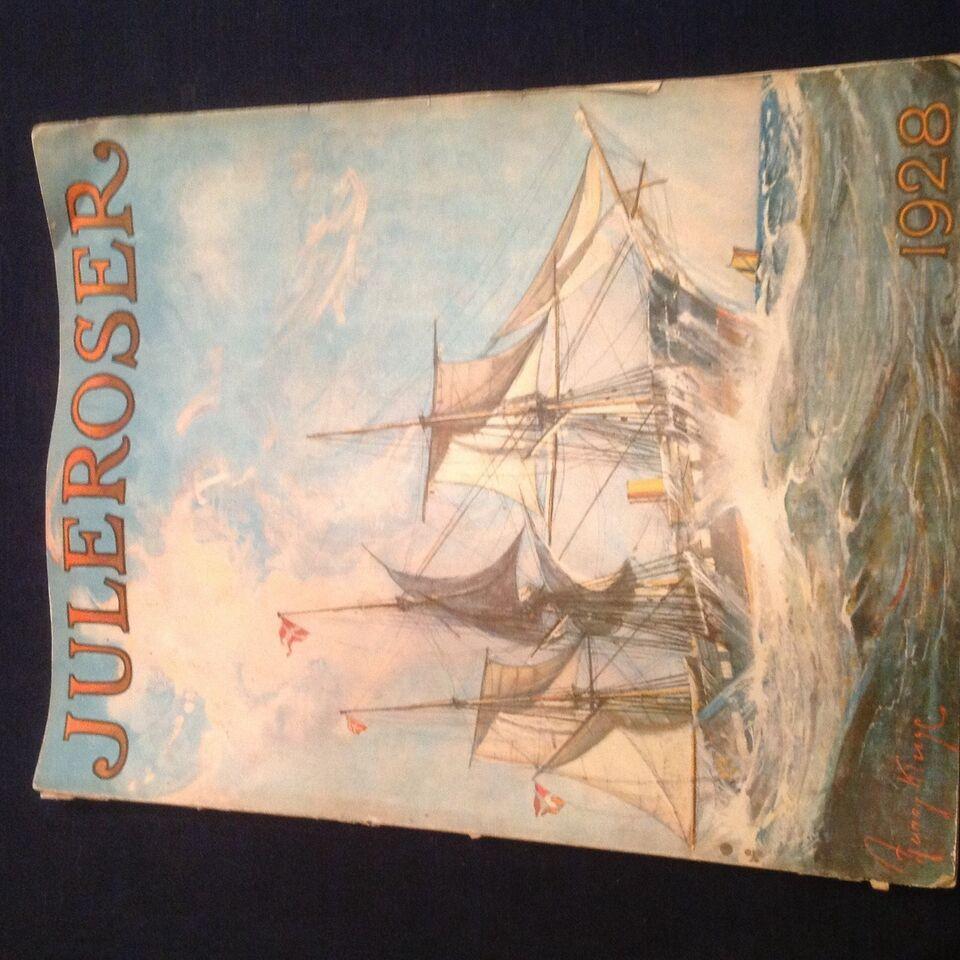Juleroser 1928., Nordisk forlag., Blad