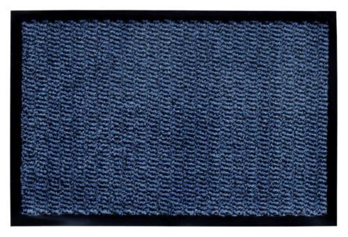 60 x 80 cm blau Fußmatte Devin