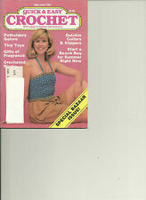 Quick & Easy Crochet Magazine May-June 1987 Vol II Issue 3