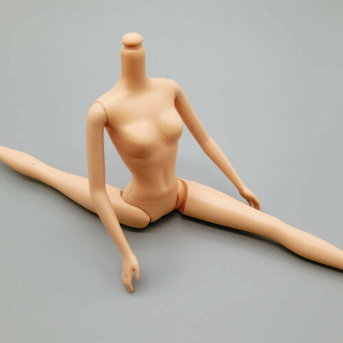 "1pc 5 Jointed DIY Movable Nude Naked Doll Body For 11.5/"" Doll House DIY Body 1//6"