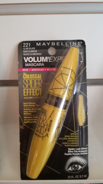 fc602a0e4b0 3 Maybelline Volume Express Colossal Spider Effect Mascara 221 Glam Black