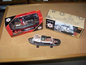 3 - ERTL Texaco Tugboat banks 1st 2nd 3rd in Series 2000 2001 2002 - used