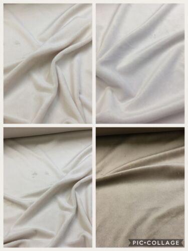 Soft Luxury CUDDLESOFT Velboa Fleece Fabric Toys//Pet Beds//Baby Clothes//Blankets