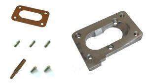Pierburg 2e2/2e3 -- > Weber Dmtl Carburateur Collecteur Plaque Adaptateur Kit-afficher Le Titre D'origine Effet éVident