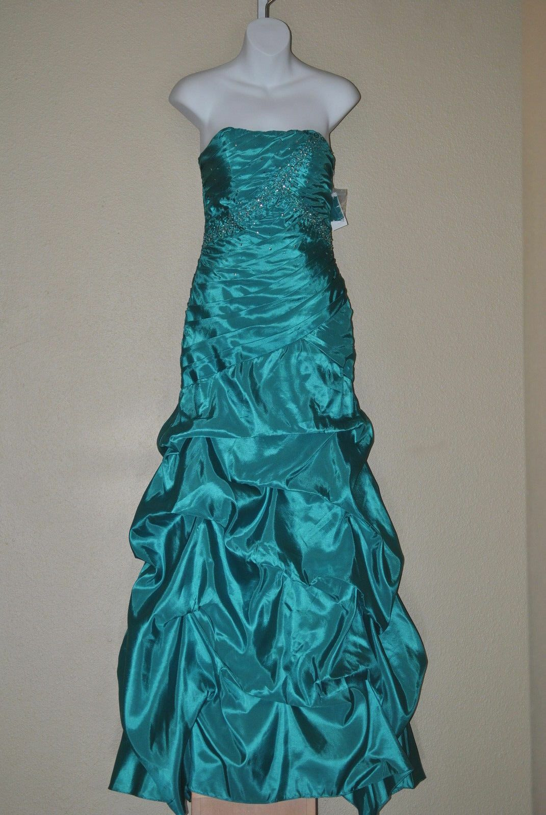 Jump Apparel Prom Pageant Formal Sweetheart Lace Up Dress Ball Gown, 5 6