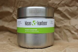 KLEAN-KANTEEN-STAINLESS-STEEL-16oz-Single-Wall-Bulk-CANISTER-CONTAINER-bento