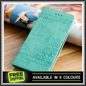 Leather-Flip-Case-Cover-for-Apple-iPhone-X-8-7-6-5-Plus-Magnetic-Card-Wallet