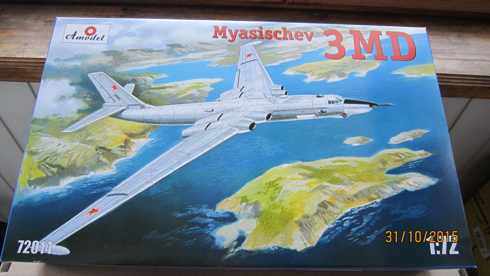 Myasishchev 3MD 'Stilyaga'  model kit   1 72  Amodel