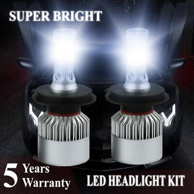 9005+9006 6000K 2800W 420000LM Combo CSP LED Headlights Kit High Low Light Bulbs