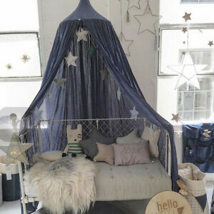 Image is loading Canopy-Bed-Net-Mosquito-Bedding-Net-Dome-Baby- & Canopy Bed Net Mosquito Bedding Net Dome Baby Kids Reading Play ...