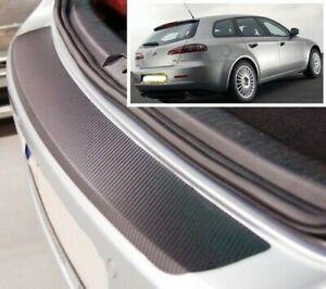 Alfa-romeo 159 Sportwagon - Carbone Style Pare-chocs Arrière Protection Soyez Amical Lors De L'Utilisation