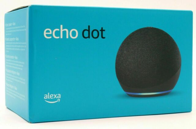 Amazon Echo Dot (4. Gen) Smart Lautsprecher mit Alexa - Anthrazit - *NEU & OVP*