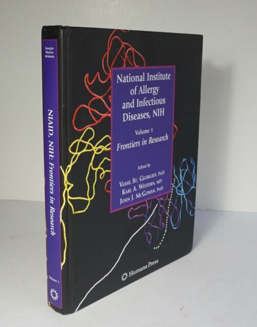 national institute of allergy and infectious diseases nih georgiev vassil st mcgowan john j western karl