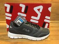 Fila Mens Memory Foam Shoes / Memory Direction /grey Size 10 Msrp: $75