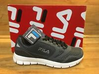 Fila Mens Memory Foam Shoes / Memory Direction /grey Size 8 Msrp: $75