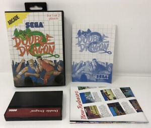 Double-Dragon-Sega-Master-System-Complete-CIB-Free-Shipping