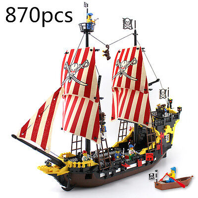 ENLIGHTEN 308 FITS LEGO PIRATE SERIES BLACK PEARL BOAT SHIP BUILDING BLOCK MODEL