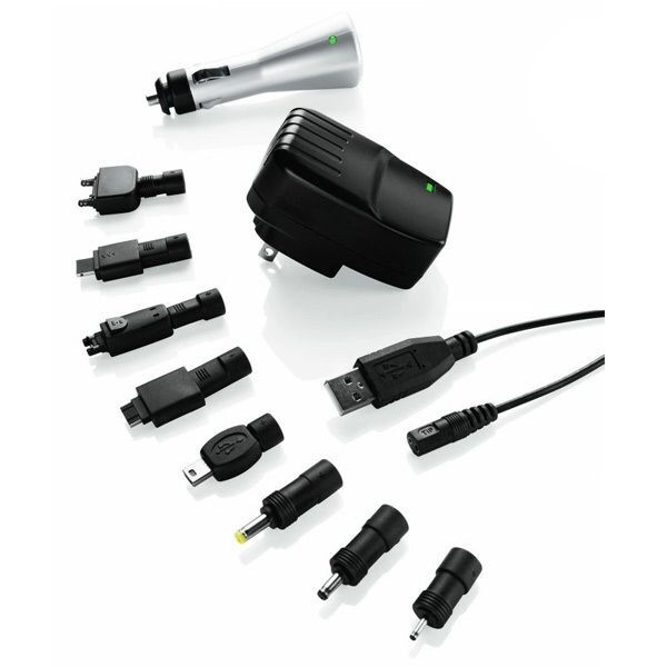 Travel Smart by Conair USB Car & Power Adapter (For Worldwide Use)
