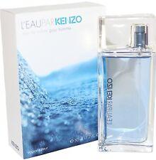 L' EAU PAR KENZO POUR HOMME 1.7/1.6 OZ EDT SPRAY NEW IN A BOX BY KENZO