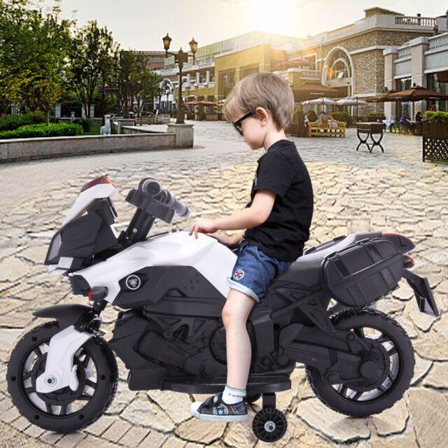 3bdcf61c055 Kids 4 Wheel Electric Motorcycle Car 6V Bike Battery Powered Ride On Toy Car