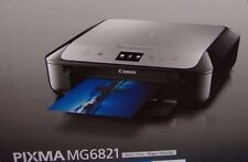 CANON MG6821 EDIBLE PRINTER BUNDLE WITH 5 EDIBLE INKS & 12 Wafer sheets