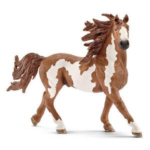 Schleich 13794 Chestnut Pinto Stallion Model Paint Horse Toy