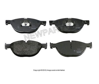 For BMW 550i GT 750i F01 F02 F07 Front /& Rear Brake Pads /& Sensors KIT Akebono