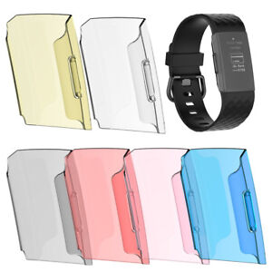 For-Fitbit-Charge-3-Ultra-thin-Soft-TPU-Screen-Protector-Case-Cover-Newest