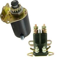 Starter/solenoid Kit For Briggs & Straton Air Cooled 7-18 Hp Engine