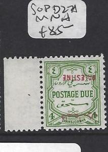 Audacieux Jordan Palestine (p1701b) Postage Due Sg Pd27a Neuf Sans Charnière Inversé Ovpt Pratique Pour Cuire