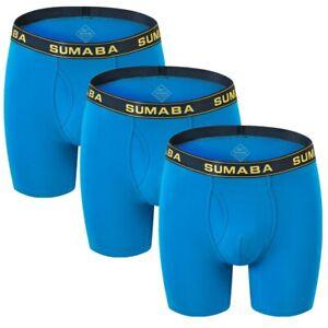 Mens U Convex Design Boxer Shorts Sports Longer Leg Trunks Briefs Underwear