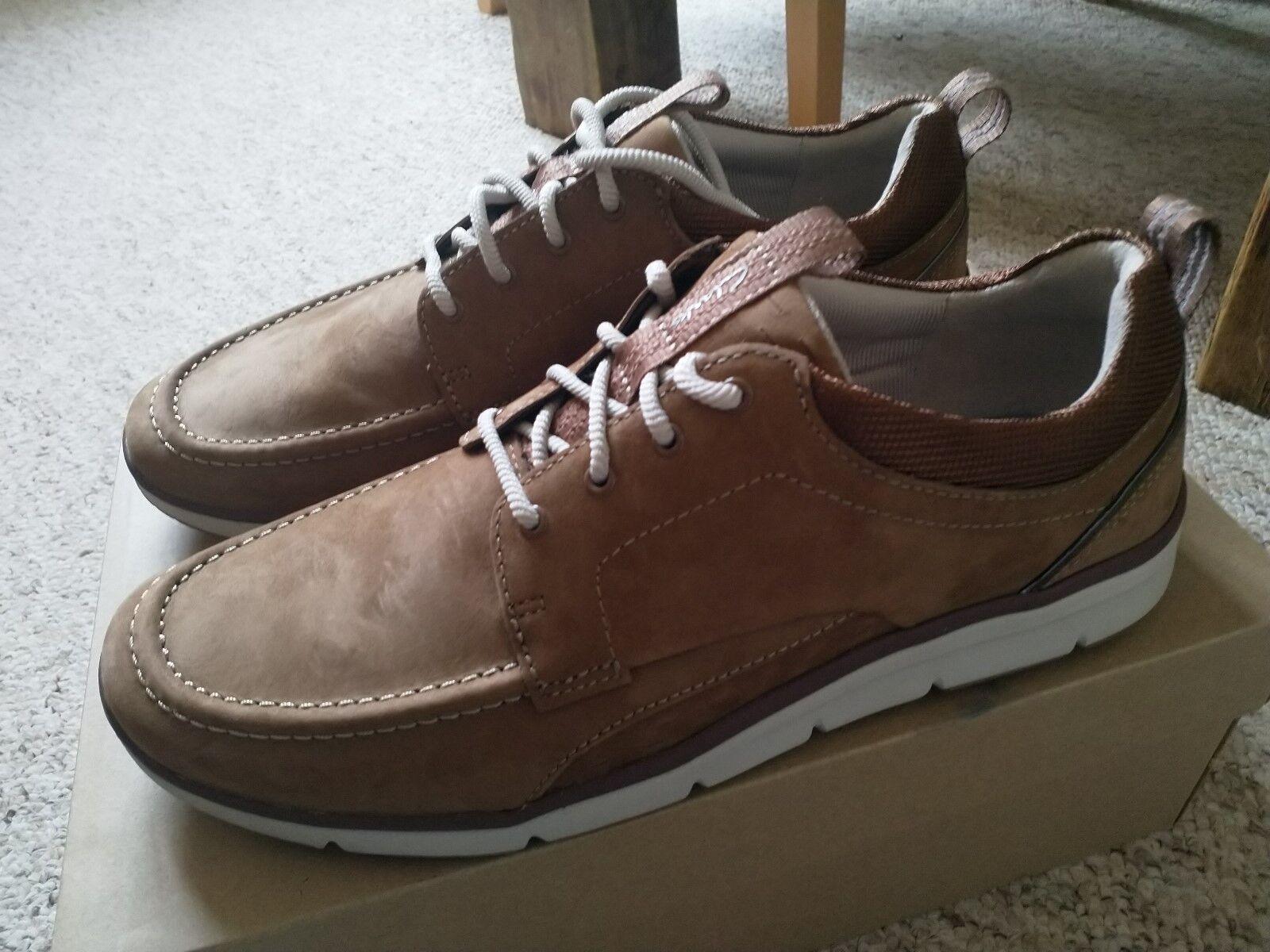 Clarks Hombre Orson Bay low-top Tenis Zapatos-Nuevo