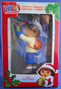 Dora-The-Explorer-Kurt-S-Adler-Diego-Holding-Christmas-Wreath-Ornament