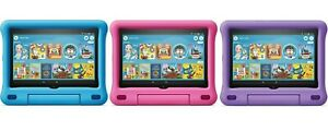"""All-New Fire HD 8 Kids Edition Tablet, 8"""" HD display, 32 GB,10th Gen 2020"""