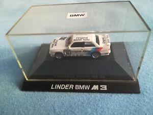 Org. Modell - BMW 3er E 30 M3 Lindner - weiß - DTM 91 - Nr 16 - Heger - 1:87 - Deutschland, Deutschland - Org. Modell - BMW 3er E 30 M3 Lindner - weiß - DTM 91 - Nr 16 - Heger - 1:87 - Deutschland, Deutschland