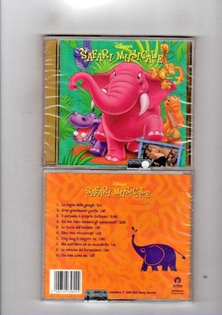 SAFARI MUSICALE - CD WALT DISNEY NUOVO SIGILLATO