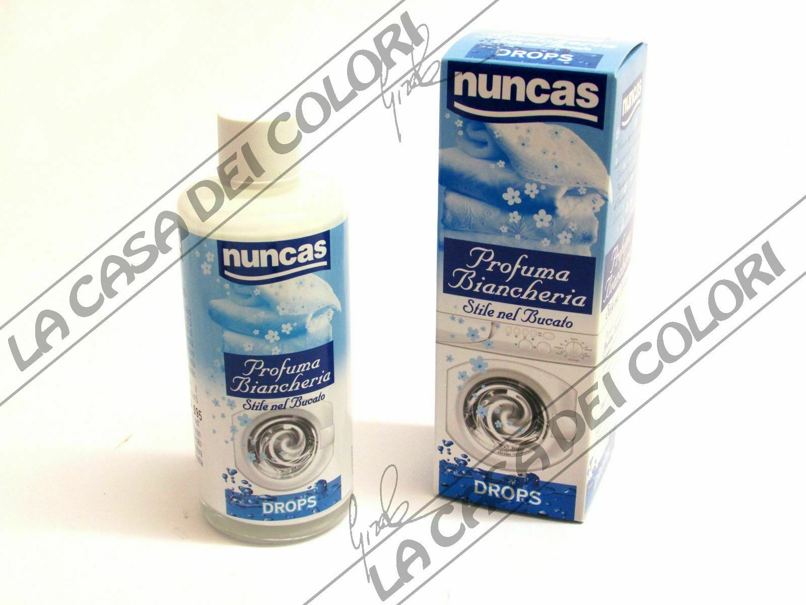 NUNCAS DROPS PROFUMA BIANCHERIA 100 ml CLASSIC PROFUMATORE PER BUCATO