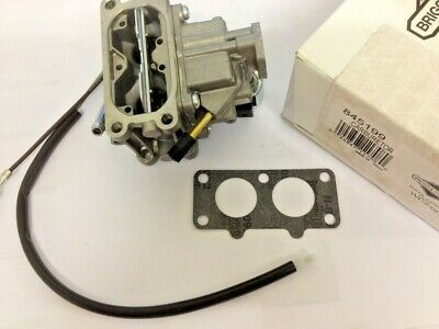 Genuine OEM Briggs /& Stratton  845199 Carburetor Lawn Mower