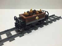 Lego Gold & Ore Freight Car For 10194 Emerald Night. Very Nice All Parts